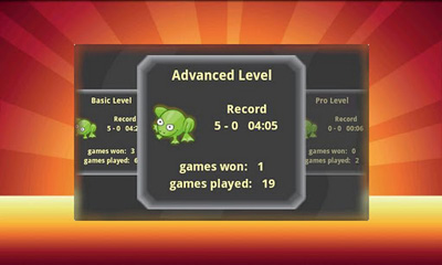 Screenshots of the Frog Volley beta for Android tablet, phone.