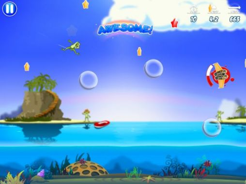 Screenshots von Froggy splash 2 für Android-Tablet, Smartphone.
