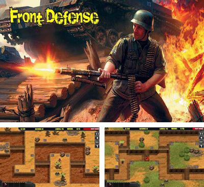 In addition to the game Cubemen for Android phones and tablets, you can also download Front Defense for free.