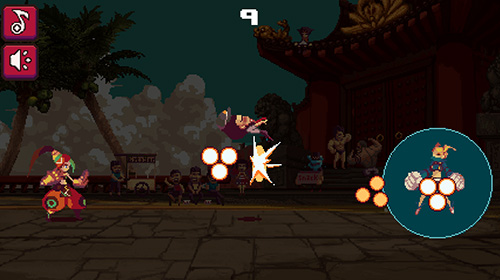 Screenshots von Frontgate fighters jump für Android-Tablet, Smartphone.