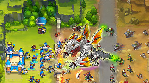 Screenshots von Frontier clash: Heroes für Android-Tablet, Smartphone.