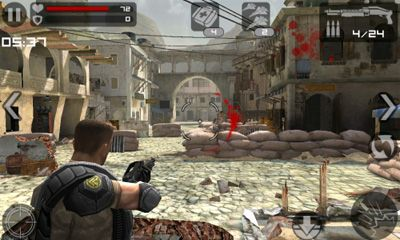 Screenshots do Frontline Commando - Perigoso para tablet e celular Android.