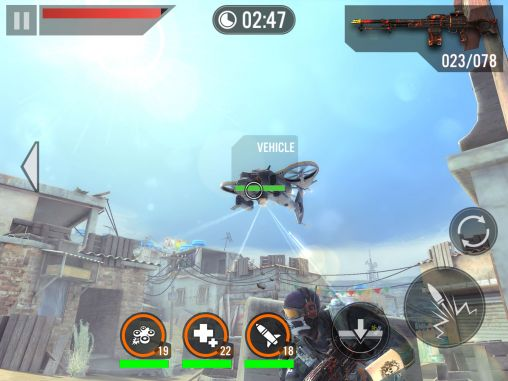 Screenshots von Frontline commando 2 für Android-Tablet, Smartphone.