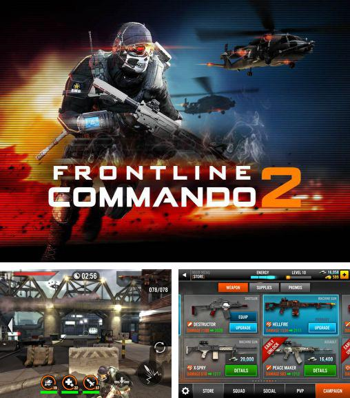 In addition to the game Frontline Commando for Android phones and tablets, you can also download Frontline commando 2 for free.