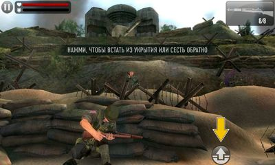 Геймплей Frontline Commando D-Day для Android телефону.