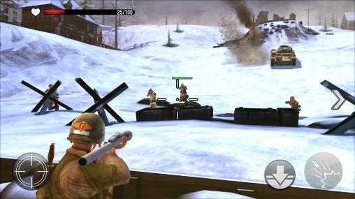 Screenshots do Frontline commando: WW2 - Perigoso para tablet e celular Android.
