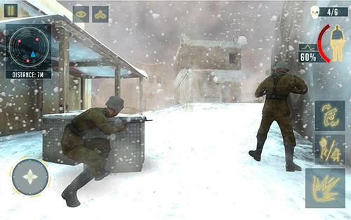 Гра Frontline critical world war counter fire squad на Android - повна версія.