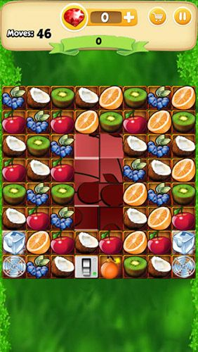 Screenshots von Fruit bump für Android-Tablet, Smartphone.