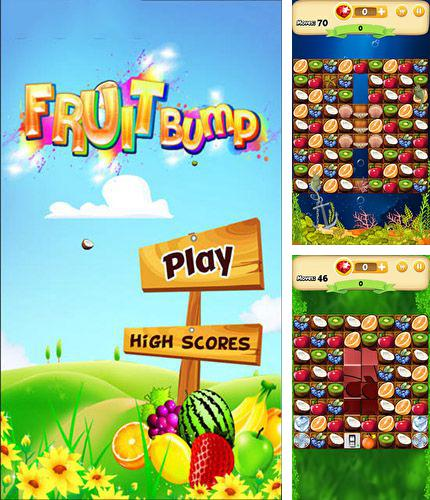 In addition to the game Fruit pop! for Android phones and tablets, you can also download Fruit bump for free.