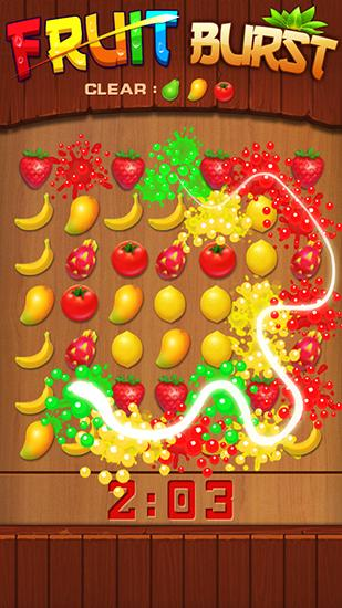 Fruit burst screenshot 1