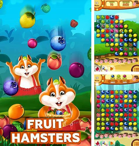 Fruit hamsters: Farm of hamsters. Match 3 game