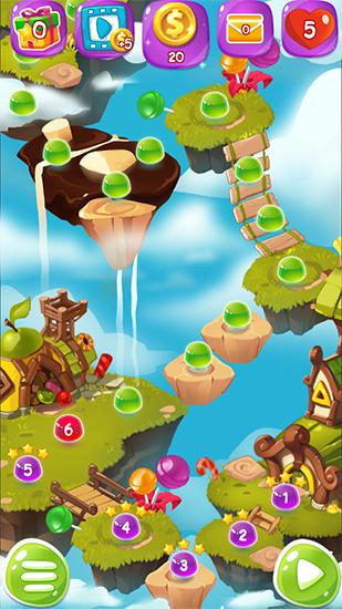 Fruit jam splash: Candy match für Android spielen. Spiel Fruit Jam Splash: Süßes Match kostenloser Download.