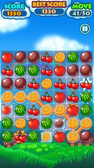 Screenshots do Fruit mania - Perigoso para tablet e celular Android.