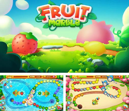 In addition to the game Marble duel for Android phones and tablets, you can also download Fruit marble for free.