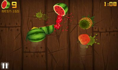 Download Fruit Ninja Android free game.