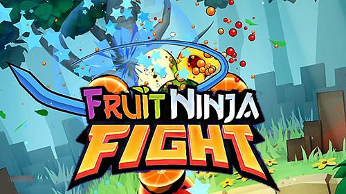 Fruit ninja fight poster
