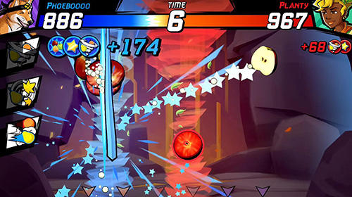 Fruit ninja fight screenshot 2