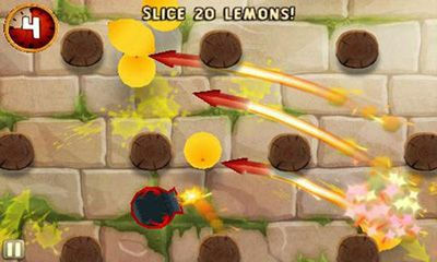 Screenshots do Fruit Ninja Puss in Boots - Perigoso para tablet e celular Android.