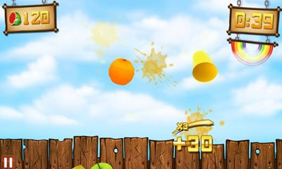 Get full version of Android apk app Fruit Ninja vs Skittles for tablet and phone.