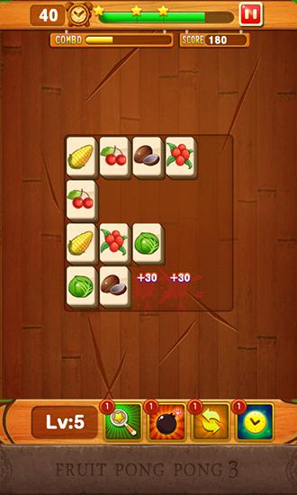 Screenshots von Fruit pong pong 3 für Android-Tablet, Smartphone.