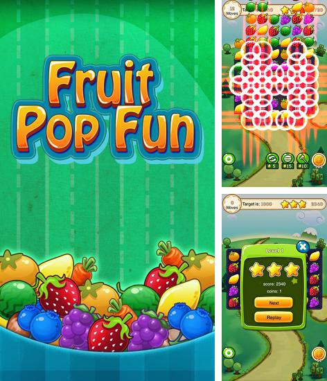 In addition to the game Whacksy Taxi for Android phones and tablets, you can also download Fruit pop fun: Mania for free.
