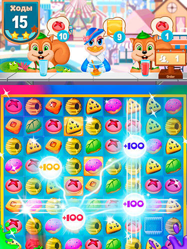 Fruit shake: Candy adventure match 3 game скриншот 2
