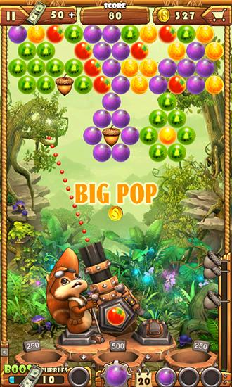 Screenshots of the Fruit shooter saga for Android tablet, phone.