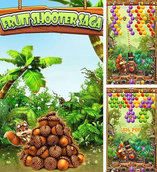 In addition to the game Shoot dinosaur eggs for Android phones and tablets, you can also download Fruit shooter saga for free.