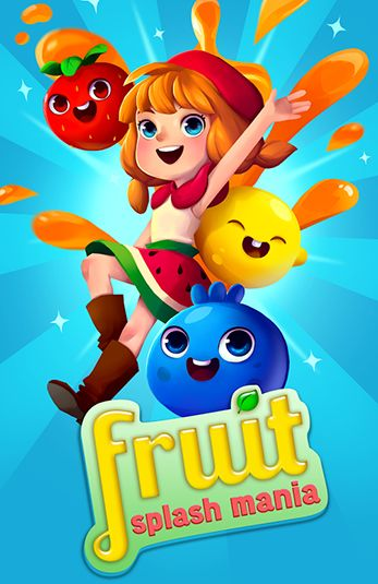 Fruit splash mania poster
