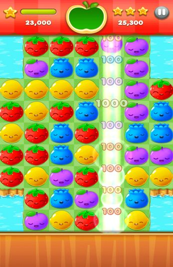 Fruit splash mania screenshot 2