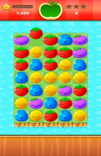 Screenshots von Fruit splash mania für Android-Tablet, Smartphone.