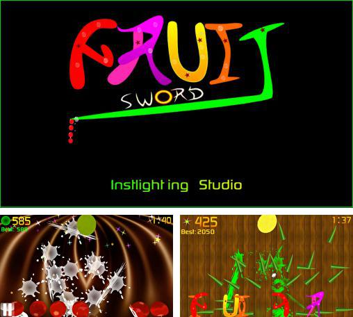 In addition to the game Fruit Ninja vs Skittles for Android phones and tablets, you can also download Fruit: Sword for free.