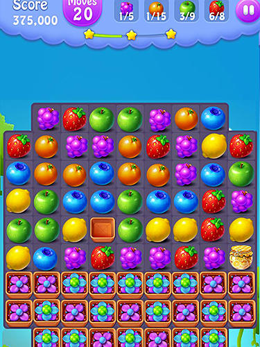 Jogue Fruits mania para Android. Jogo Fruits mania para download gratuito.
