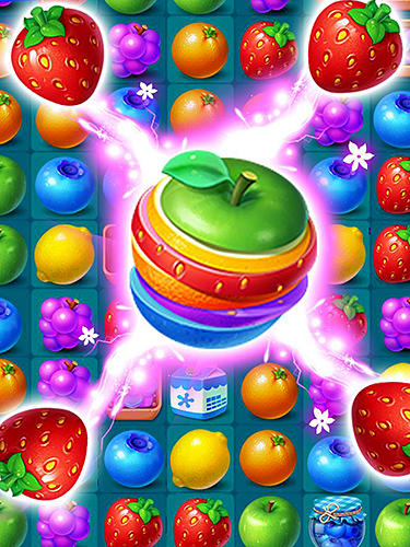 Screenshots do Fruits mania - Perigoso para tablet e celular Android.