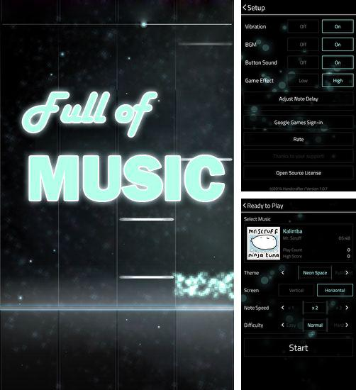 Full of music: MP3 rhythm game