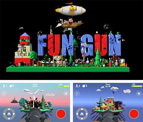 En plus du jeu Shurado pour téléphones et tablettes Android, vous pouvez aussi télécharger gratuitement Canon amusant: Jeu de tir logique amusant, Fun gun: Funny logical shooter.