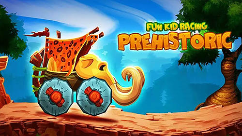 Fun kid racing: Prehistoric run обложка