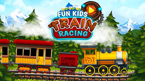 Fun kids train racing games обложка