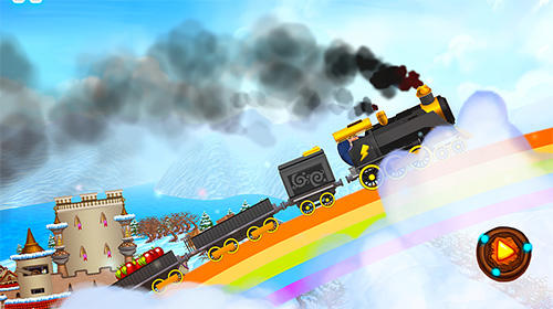 Fun kids train racing games скриншот 5