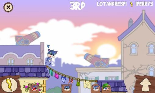 Kostenloses Android-Game Fun Run 2: Multiplayer Rennen. Vollversion der Android-apk-App Hirschjäger: Die Fun run 2:  Multiplayer race für Tablets und Telefone.