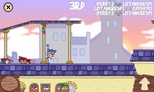 Juega a Fun run 2:  Multiplayer race para Android. Descarga gratuita del juego Carrera divertida 2: Carrera multijugador.