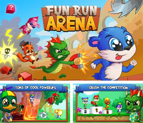 Fun run arena: Multiplayer race