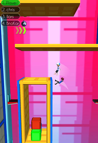 Fun run: Parkour race 3D screenshot 2