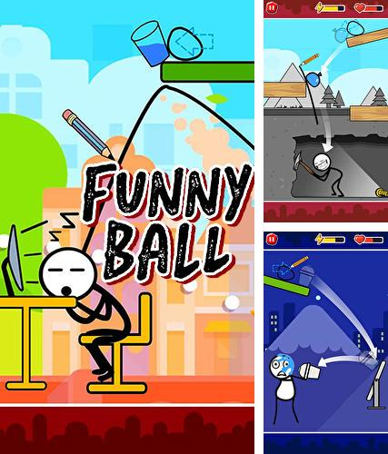 Funny ball: Popular draw line puzzle game poster