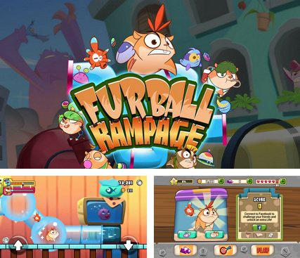 In addition to the game 1096 AD Knight Crusades for Android phones and tablets, you can also download Furball rampage for free.