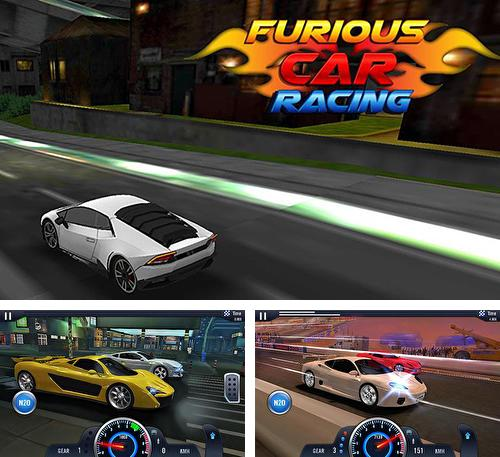 In addition to the game Beach volleyball 3D for Android phones and tablets, you can also download Furious car racing for free.