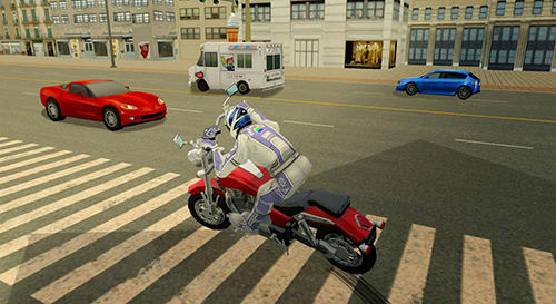 Furious city moto bike racer 2 für Android spielen. Spiel Furious City: Motorradraser 2 kostenloser Download.