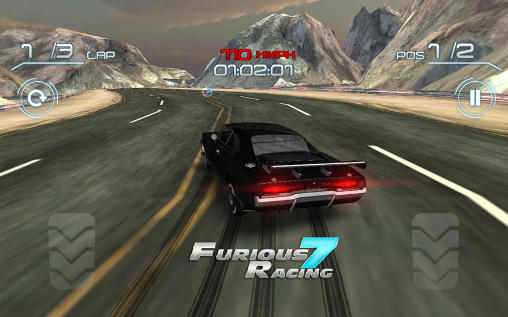 Screenshots von Furious racing 7: Abu-Dhabi für Android-Tablet, Smartphone.
