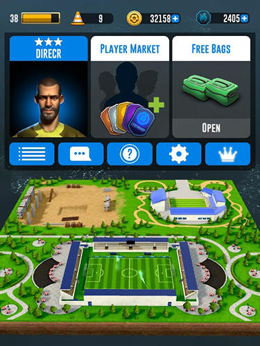 Screenshots von Fury 90: Soccer manager für Android-Tablet, Smartphone.
