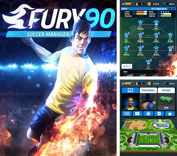 In addition to the game Retro soccer: Arcade football game for Android phones and tablets, you can also download Fury 90: Soccer manager for free.